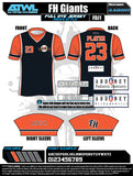 Fishhwak Spring 2020 Baseball Jerseys
