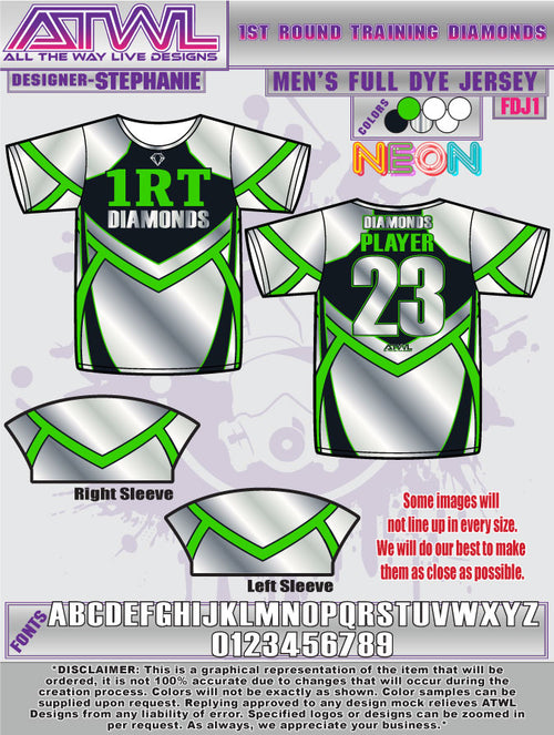1st Round Diamonds Jersey