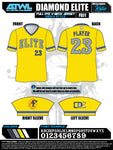 Diamond Elite Full Dye Jersey
