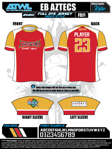 East Bay Spring 2020 Baseball Jerseys