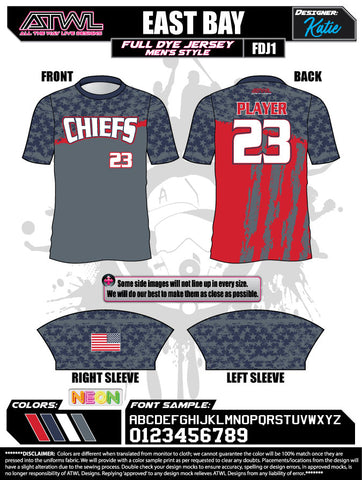 East Bay Travel Men's Jersey