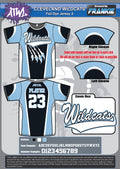 Cleveland Wildcats Full Dye Jersey