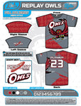 REPLAY OWLS FULL-DYE JERSEYS