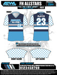 Fishhawk All Stars Full Dye Jersey