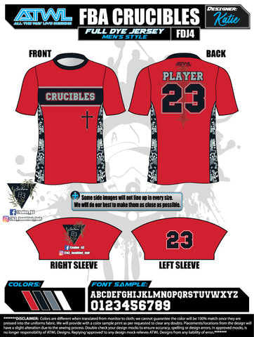 Crucibles Alternate Game Day Jersey