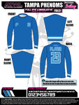 Tampa Phenoms Full Dye Long Sleeve Jersey
