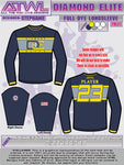 Diamond Elite Long Sleeve Crew Neck