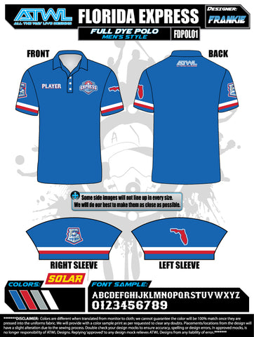 Florida Express Men's Polo