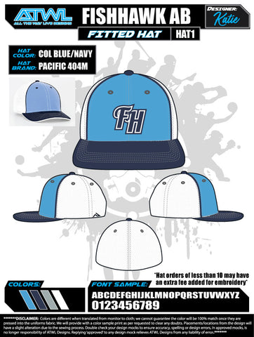 Fishhawk Advanced Baseball Hat