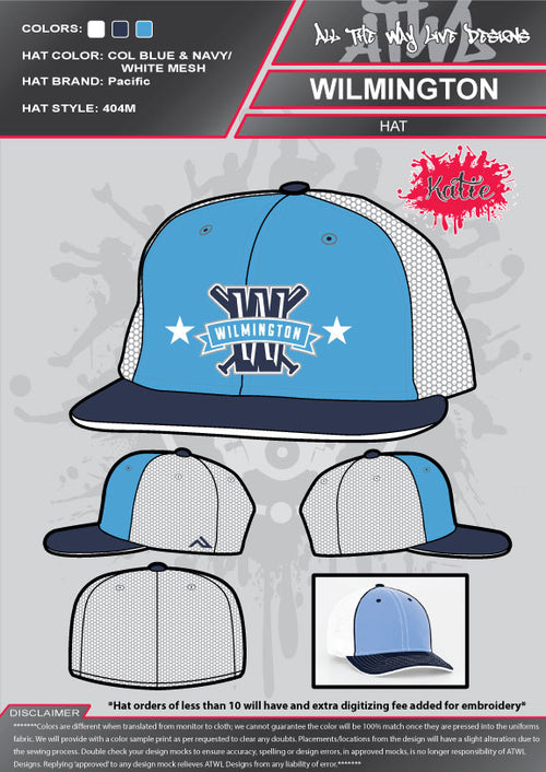Wilmington All-Stars Hat