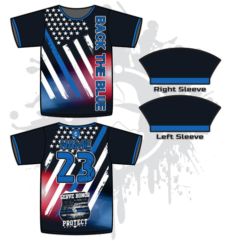 Thin Blue Line Full Dye Jersey