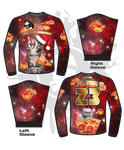 MEEEEOWY CHRISTMAS UGLAY SWEATER (RED)