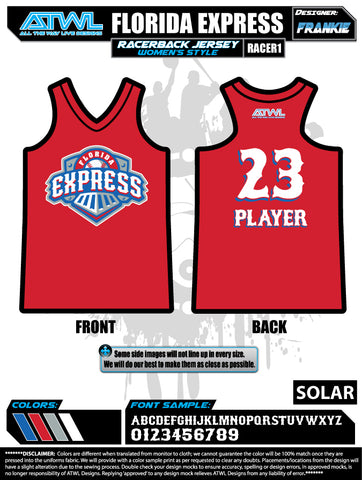 Florida Express Women's Racerback