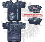 Armed Force (Navy) Mens Full Dye Jersey