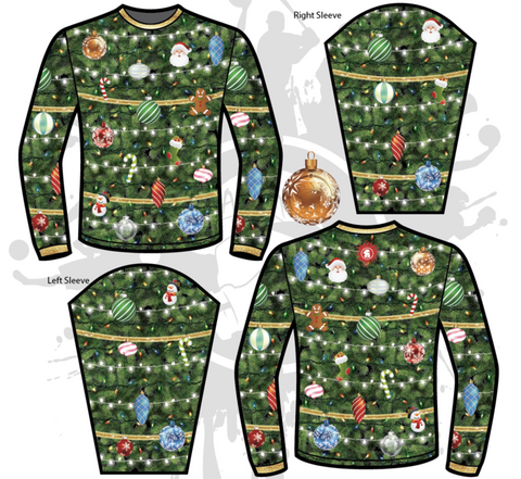 DECORATED TREE UGLY SWEATER