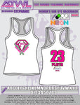 1st Round Training Diamonds Women's Racerback