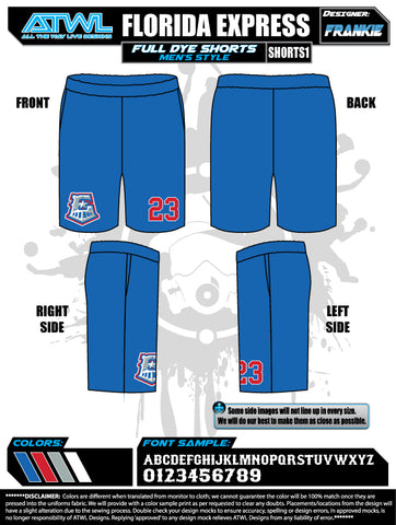 Florida Express Men's Shorts