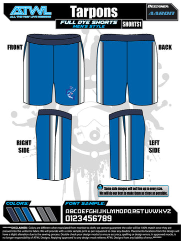 Tarpons Men's Shorts