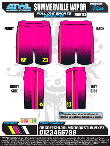 SUMMERVILLE VAPOR 2020 SHORTS