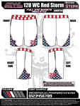 WC Red Storm Shorts