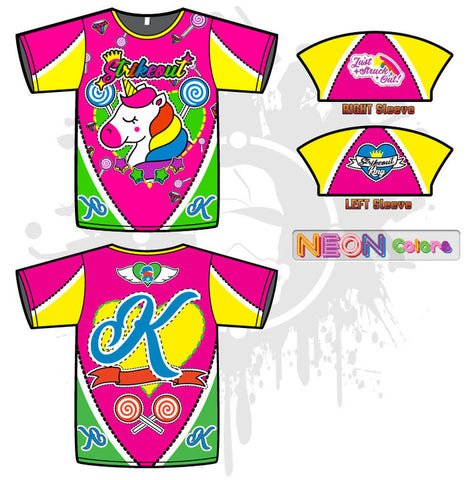 Unicorn Strikeout Mens Full-Dye Jersey
