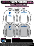 Tampa Phenoms  Long Sleeve Sub Dye Jersey 2