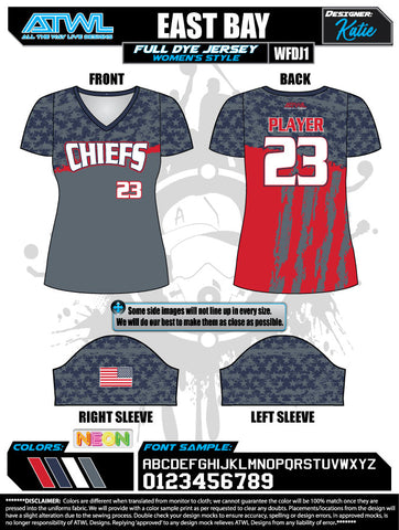 East Bay  Women's Jersey