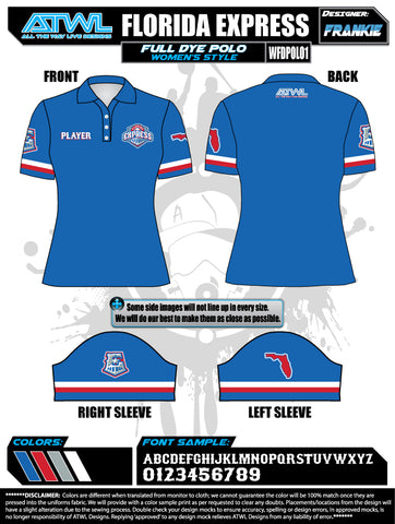 Florida Express Women's Polo