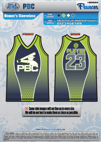PBC WOMEN'S SLEEVELESS