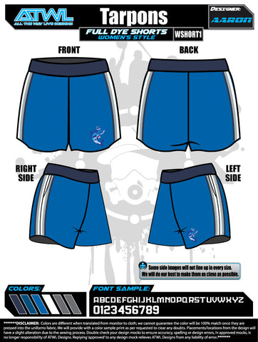 Tarpons Women's Shorts