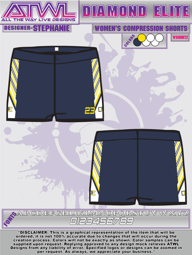 Diamond Elite Women's Shorts