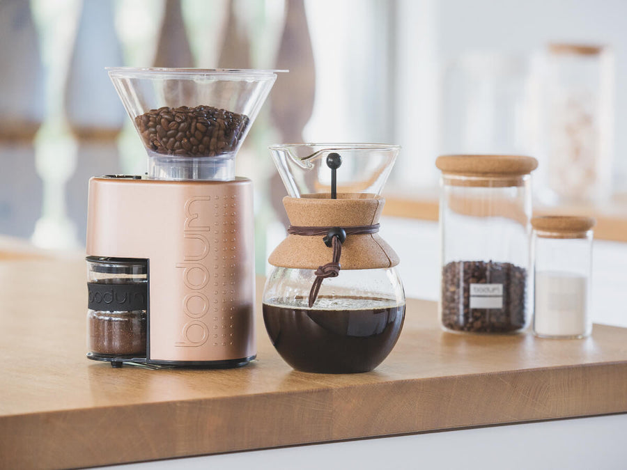 Bodum | Bistro Burr Grinder - Copper - CAFUNE - Accessories - Canada