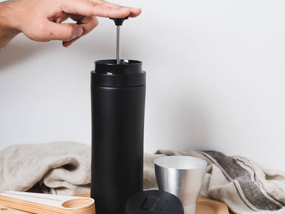 Espro | Travel Press - Meteorite Black - CAFUNE - Brewing Equipment - Canada
