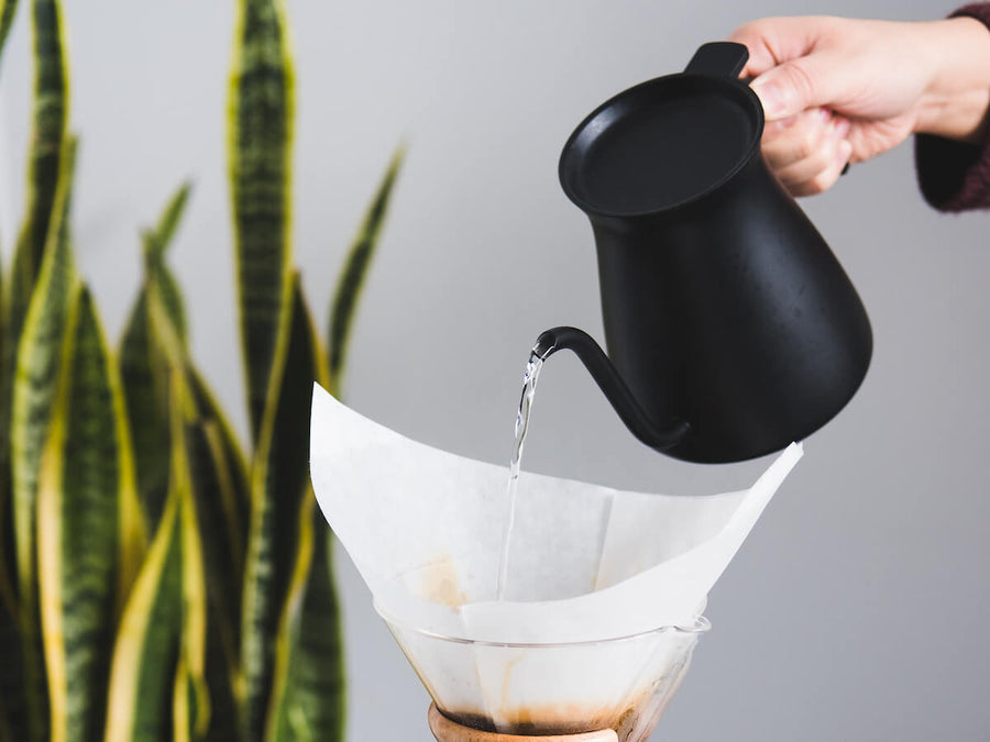Kinto | Pour Over Kettle - Black - CAFUNE - Accessories - Canada
