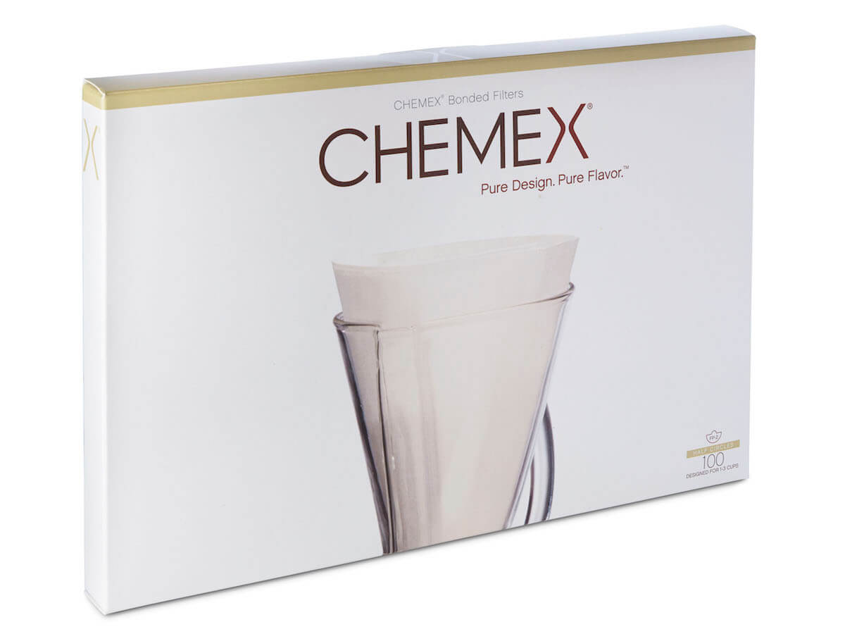 Chemex | Unfolded Half Moon Filters