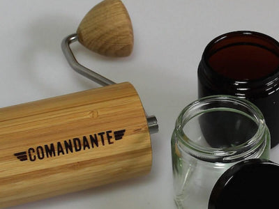Comandante | Bean Jar Set - Clear