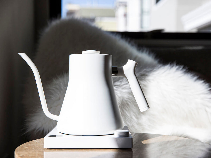 Fellow | Stagg EKG Electric Pour Over Kettle - Matte White