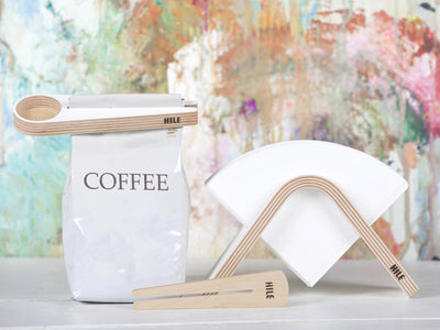 Hile | Kapu Coffee Scoop & Bag Clip - CAFUNE - Serveware - Canada