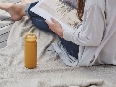 Kinto | Day Off Tumbler - Mustard