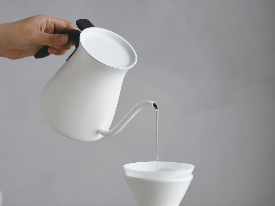 Kinto | Pour Over Kettle - White - CAFUNE - Accessories - Canada