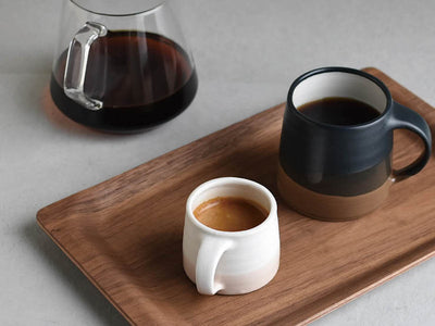 Kinto | Slow Coffee Style Mug - Black / Brown - CAFUNE - Serveware - Canada