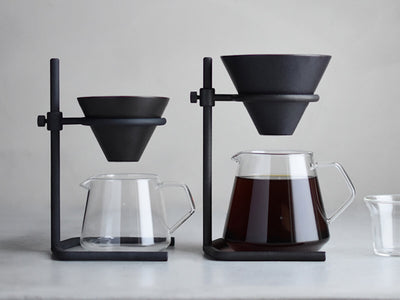 Kinto | Slow Coffee Style Brewer Stand Set - Black - CAFUNE - Brewing Equipment - Canada