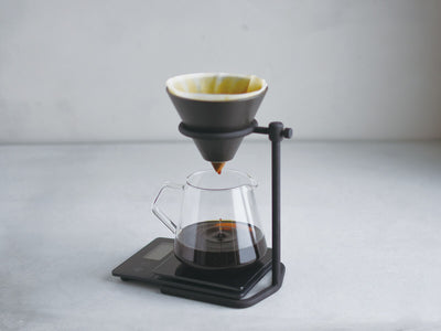 Kinto | Slow Coffee Style Brewer Stand - Black