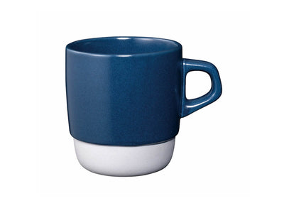 Kinto | Slow Coffee Style Stacking Mug - Navy - CAFUNE - Serveware - Canada