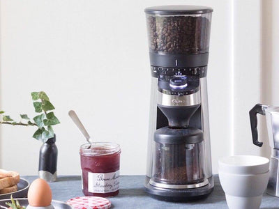 OXO | Conical Burr Coffee Grinder w. Integrated Scale