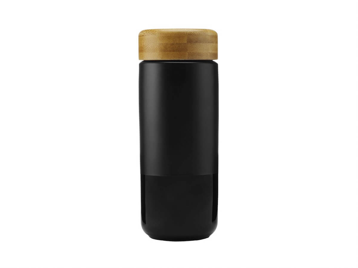 Soma | Insulated Ceramic Tumbler - Black