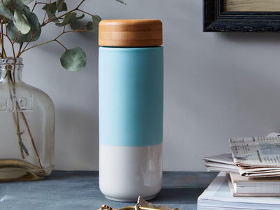 Soma | Insulated Ceramic Tumbler - Mint