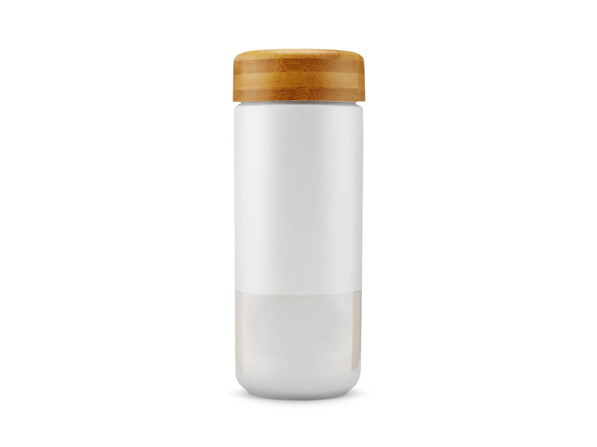 Soma | Insulated Ceramic Tumbler - Pearl