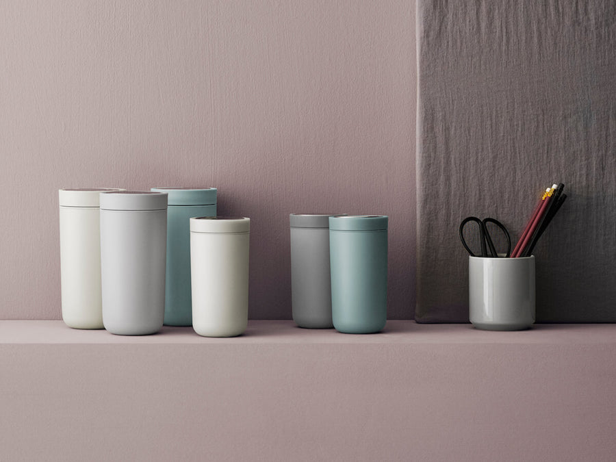 Stelton | To Go Click - Chalk