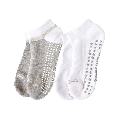 Kids 2 Pack Grip Socks 4T-6T (DYLAN)